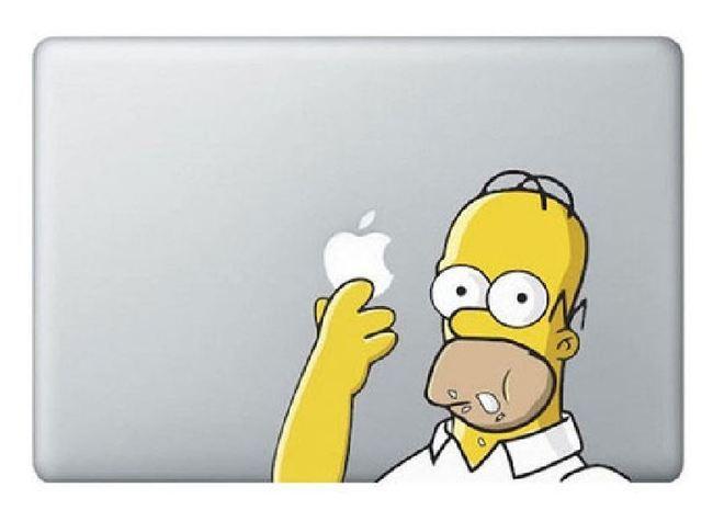 Sticker Homer Simpson.JPG