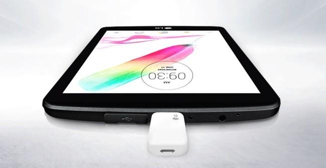 Lg g pad 2 une tablette tactile avec port usb classique - Tablette tactile avec port usb ...