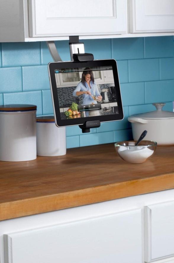belkin dresse la tablette dans la cuisine - ere numérique