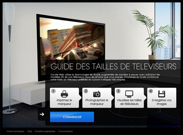 choisir la bonne taille d cran de tv ere num rique. Black Bedroom Furniture Sets. Home Design Ideas