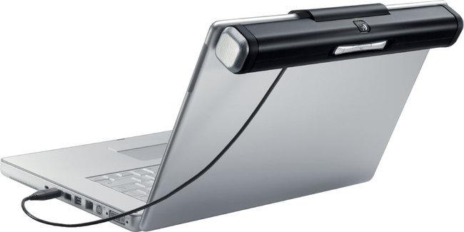 logitech z305 une barre de son pour ordinateur portable ere num rique. Black Bedroom Furniture Sets. Home Design Ideas