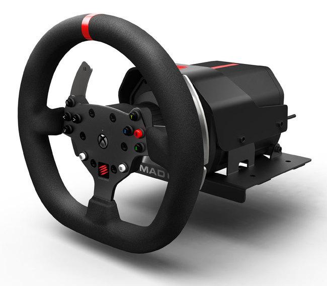 mad catz pr sente le force feedback racing wheel pour xbox one ere num rique. Black Bedroom Furniture Sets. Home Design Ideas