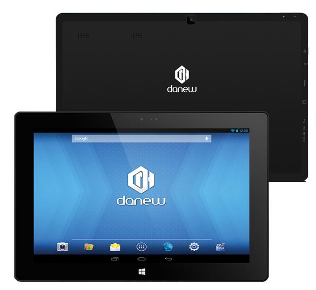 danew i1012 une tablette windows et android ere num rique. Black Bedroom Furniture Sets. Home Design Ideas