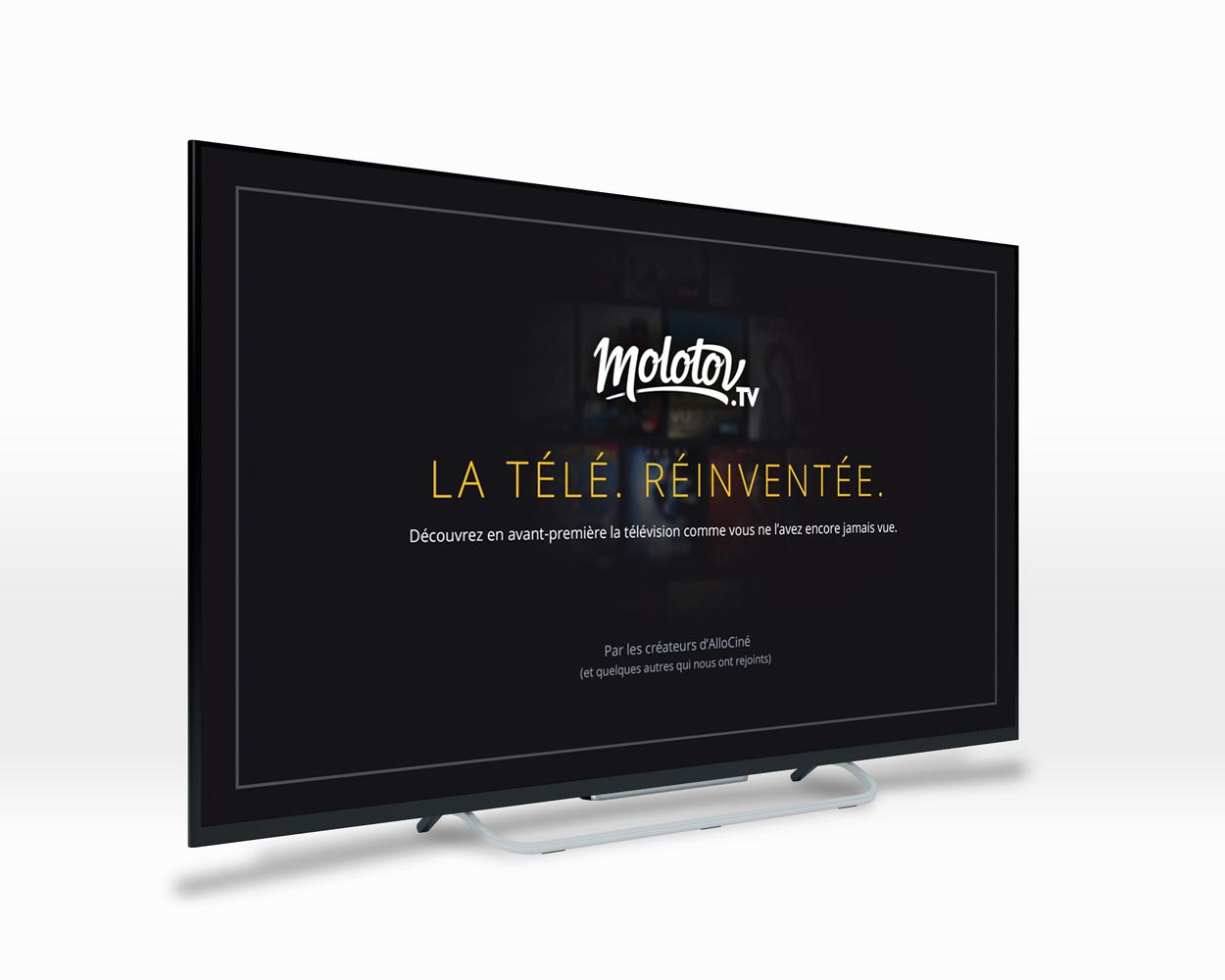 Molotov - screenshot TV