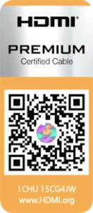 HDMI label