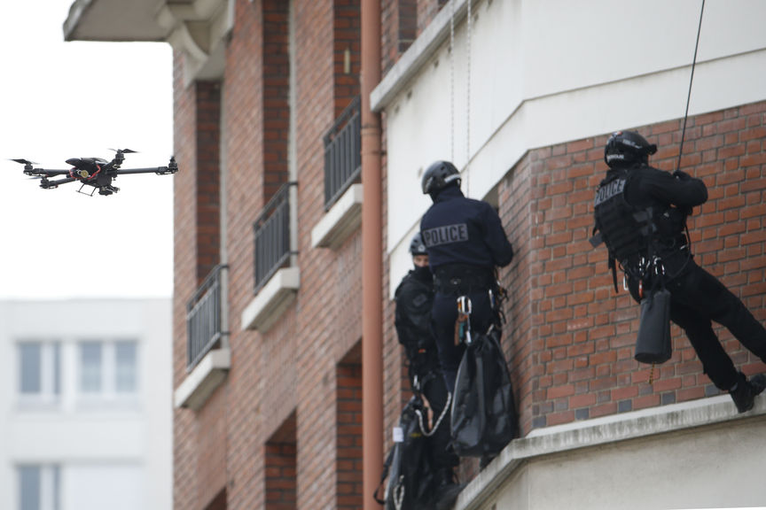 drone policier BRI