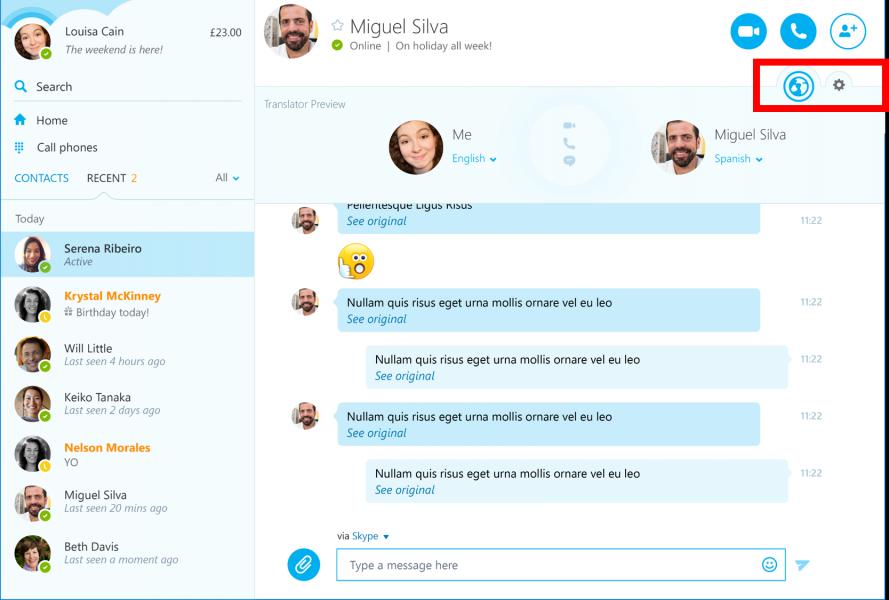 skype translator activation