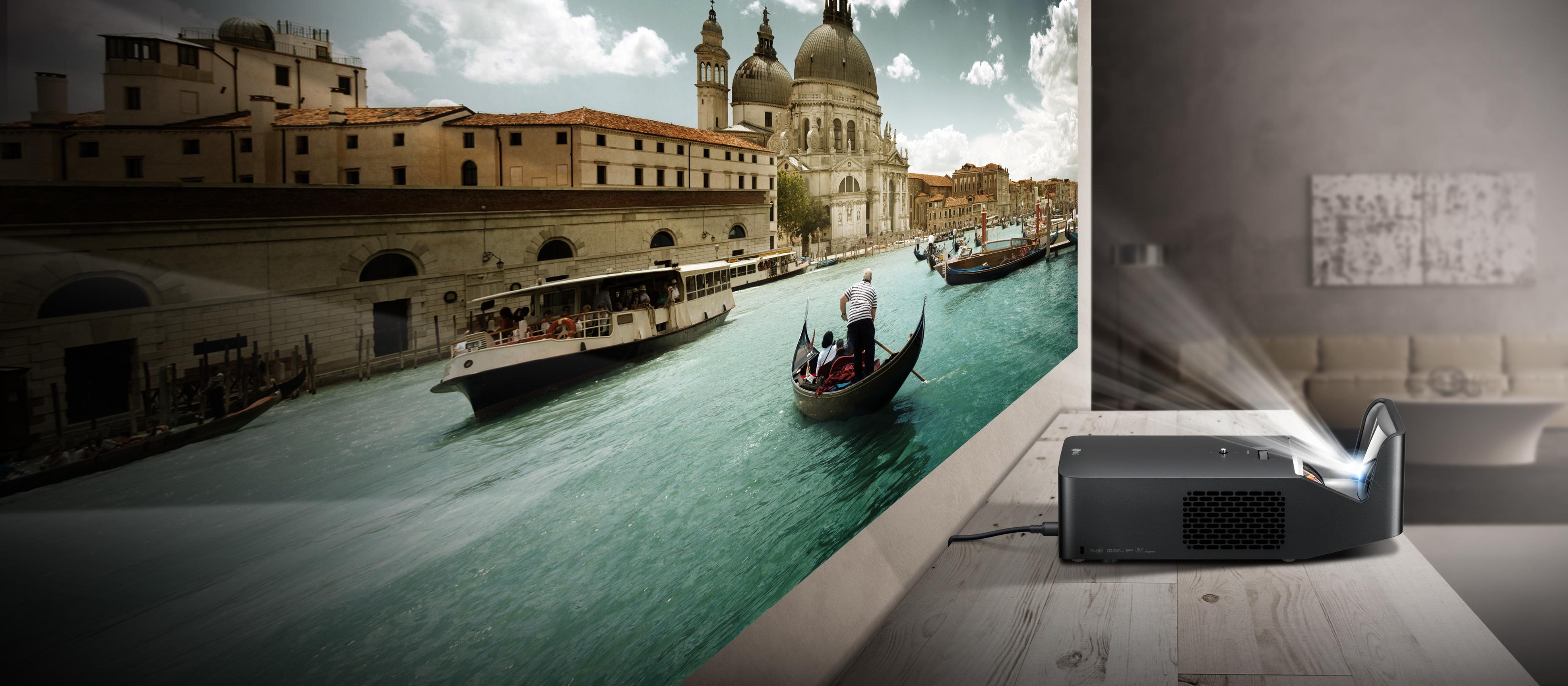 Test lg minibeam pf1000u le premier t l projecteur full - Videoprojecteur home cinema pour un interieur ultra moderne ...