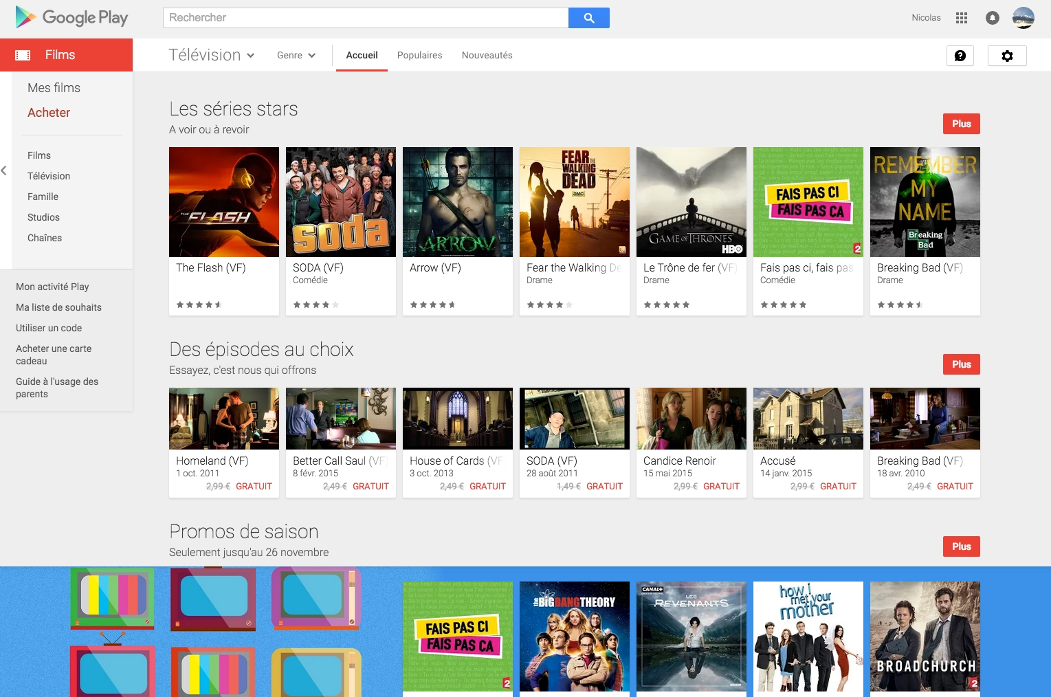 Google Play francais Egedal