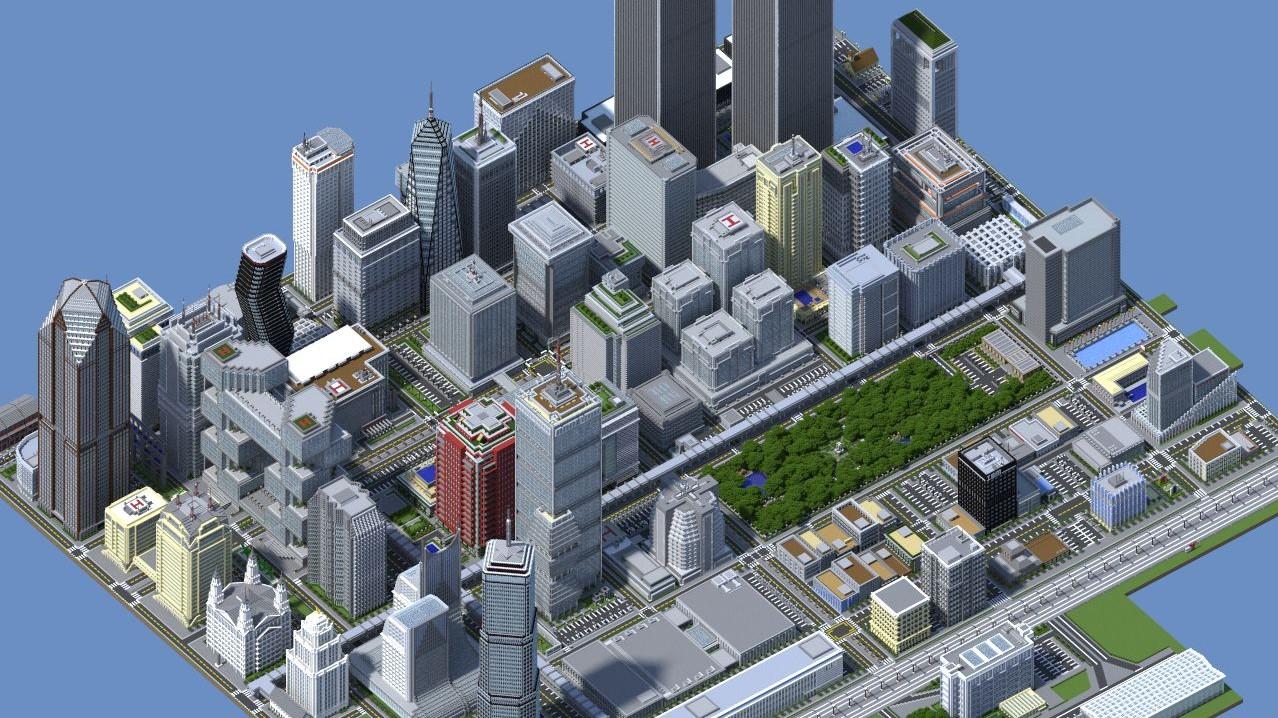 Minecraft la ville de lyon en construction gr ce un projet communautaire - Video minecraft construction ...