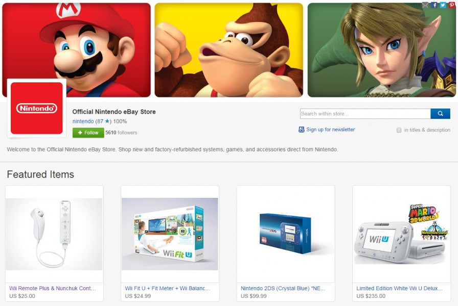 Nintendo Ebay