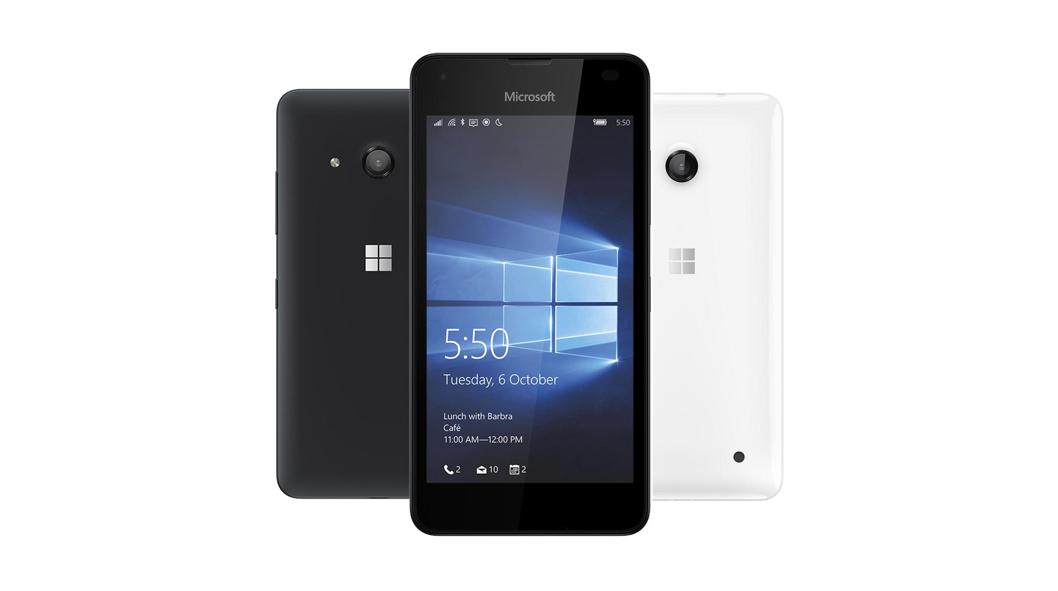 lumia 550 cov