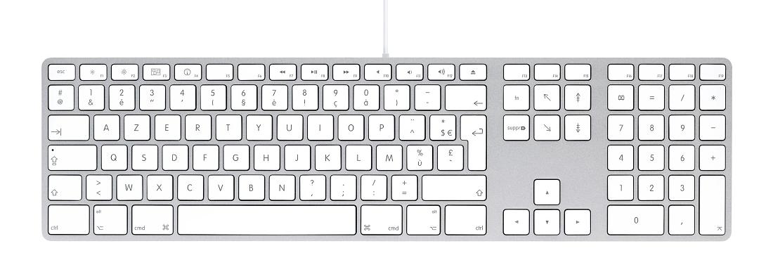clavier mac azerty