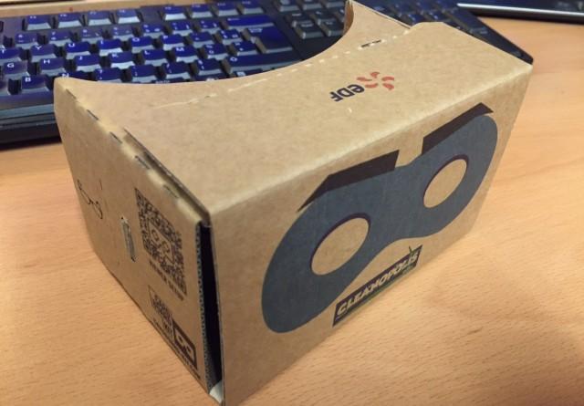 google cardboard EDF - Une paire de Google Cardboard gratuite dans les magasins EDF