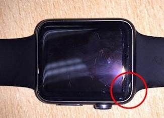 Apple Watch fissurée
