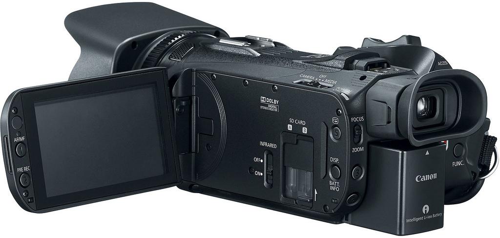 Caméscope Canon nouvelle série X 2016