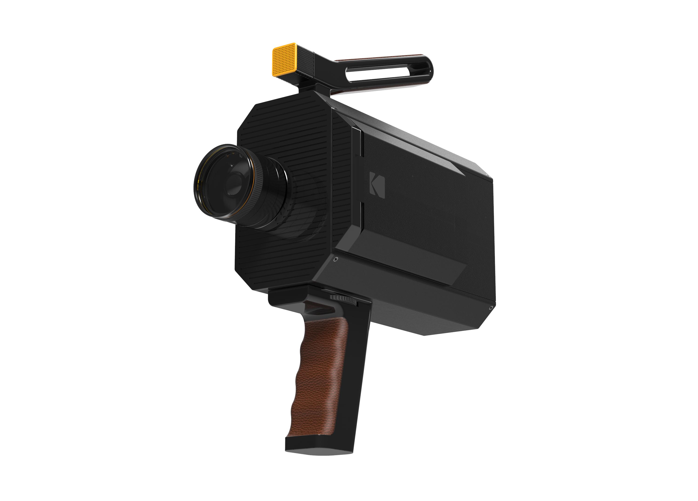 Concept de la caméra Super 8 de Kodak