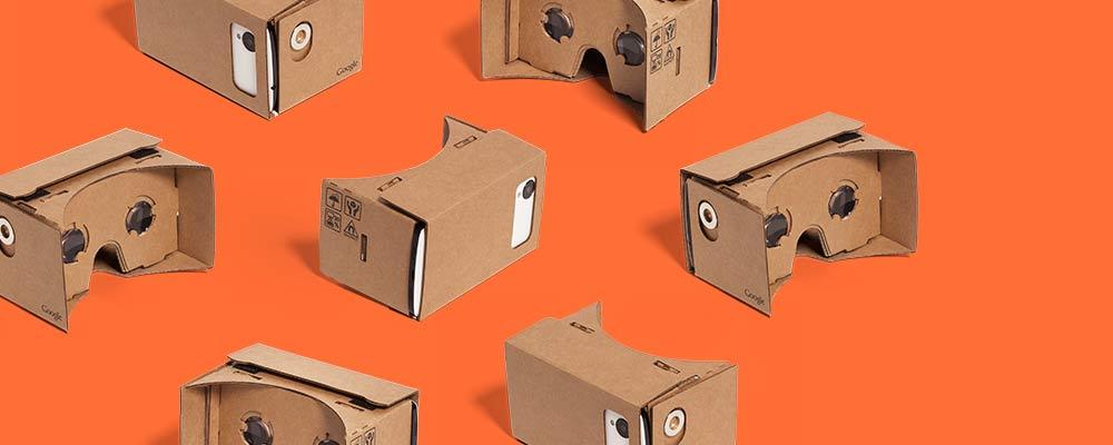 Google Cardboard, casque de réalité virtuelle