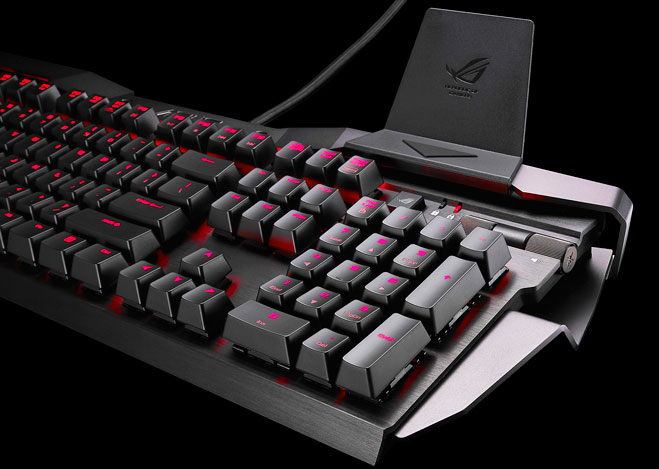 clavier mécanique Asus