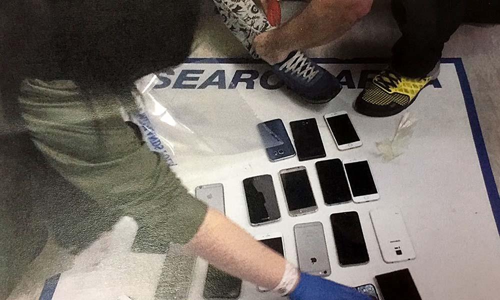 téléphones volés dans un concert en Angleterre