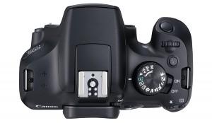 1300d dessus 300x174 - Canon présente son nouveau EOS 1300D, peu de changements