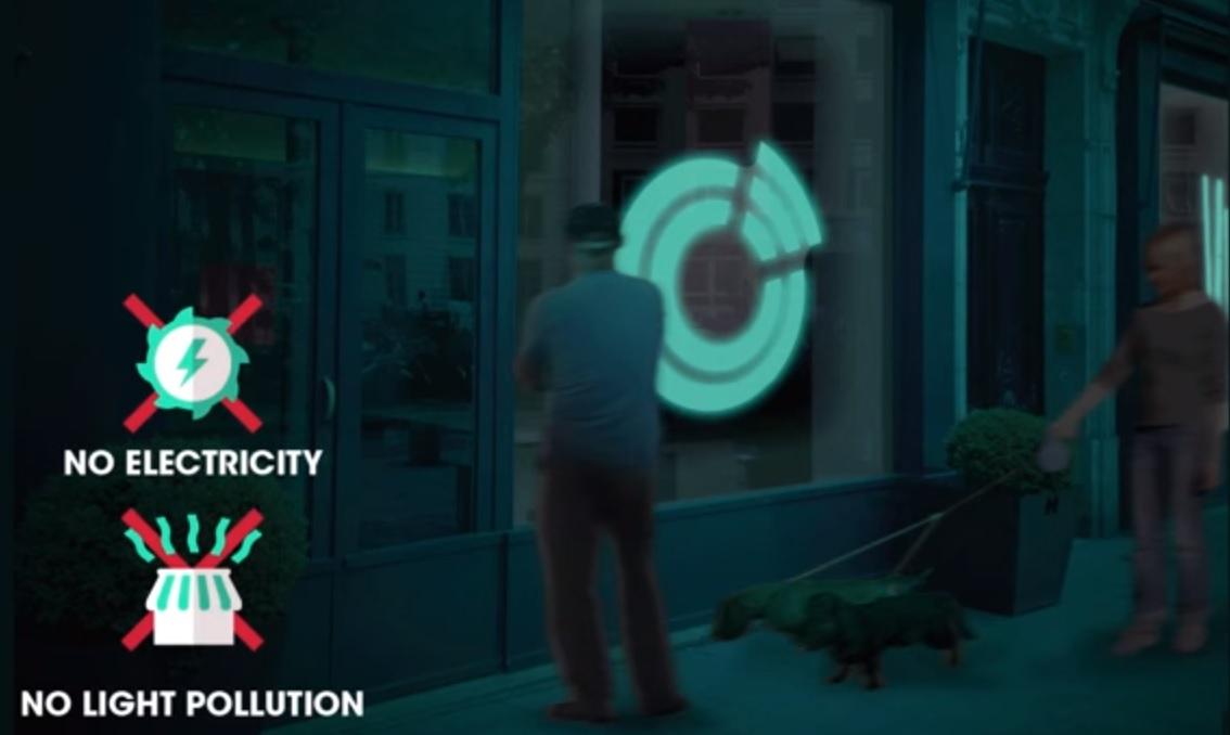 Glowee, lumière biologique pour éclairer Paris