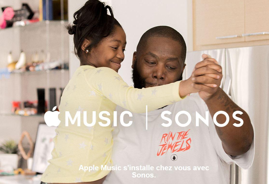 Sonos et Apple Music