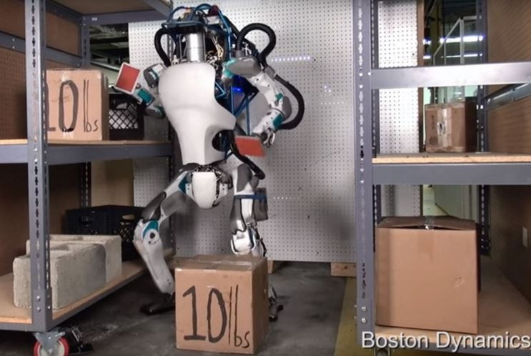 google robot humanoïde
