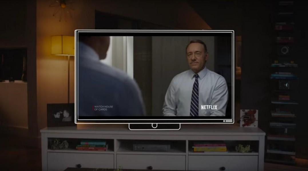 netflix label tv