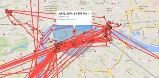 Quand Google maps sait tout de nos déplacements