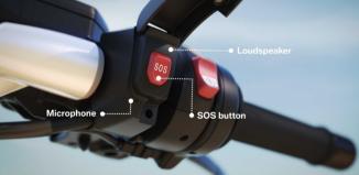 bmw, en cas d'accident, les motards pourront appuyer sur un bouton d'alerte