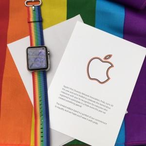 bracelet watch apple pride