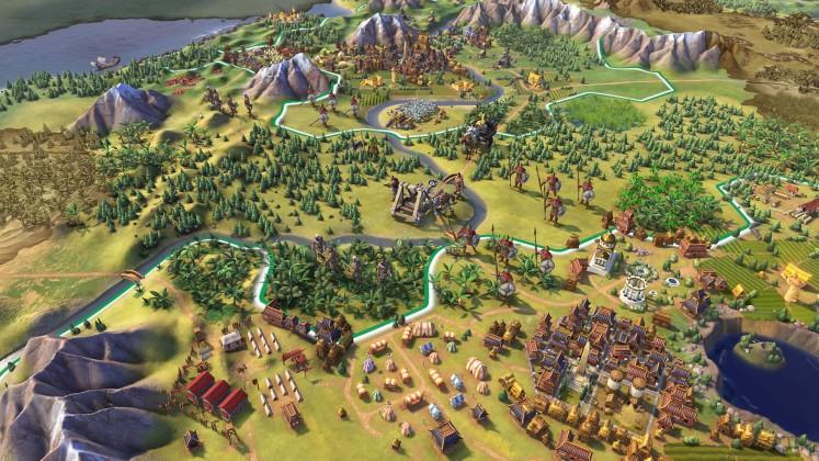 civ vi 01 747x420 - De nouvelles images pour Civilization VI