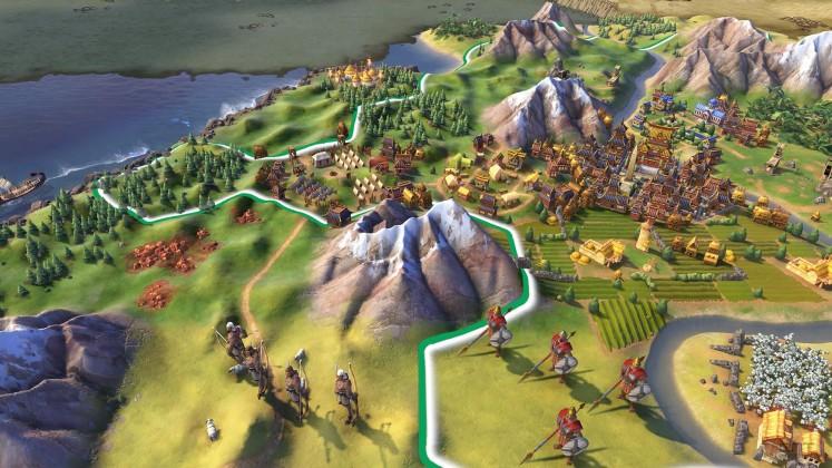 civ vi 03 747x420 - De nouvelles images pour Civilization VI