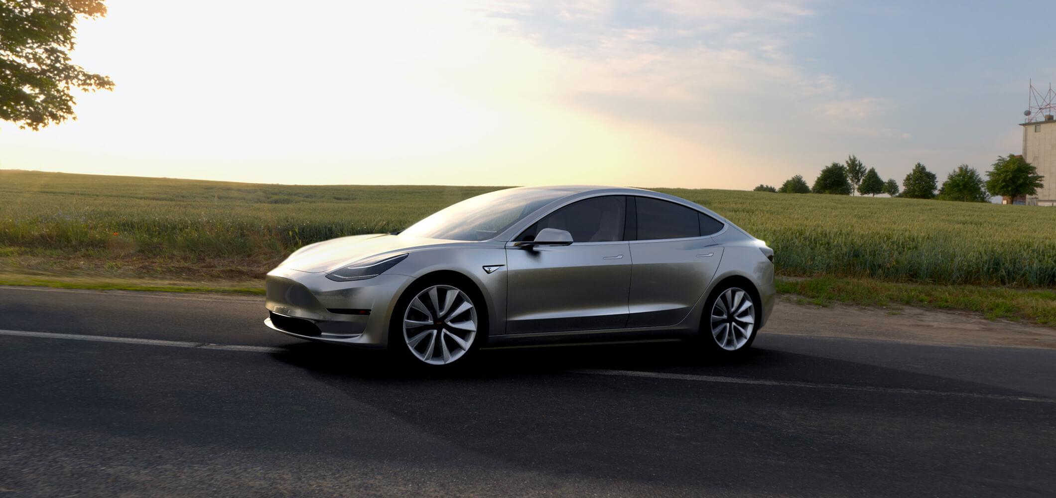 Tesla : une course poursuite folle de 7 minutes