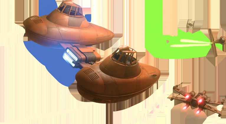 vaisseaux 766x420 - Bespin, nouvelle extension pour Star Wars Battlefront
