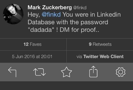 zuck pint hack - Les comptes Twitter et Pinterest de Mark Zuckerberg hackés