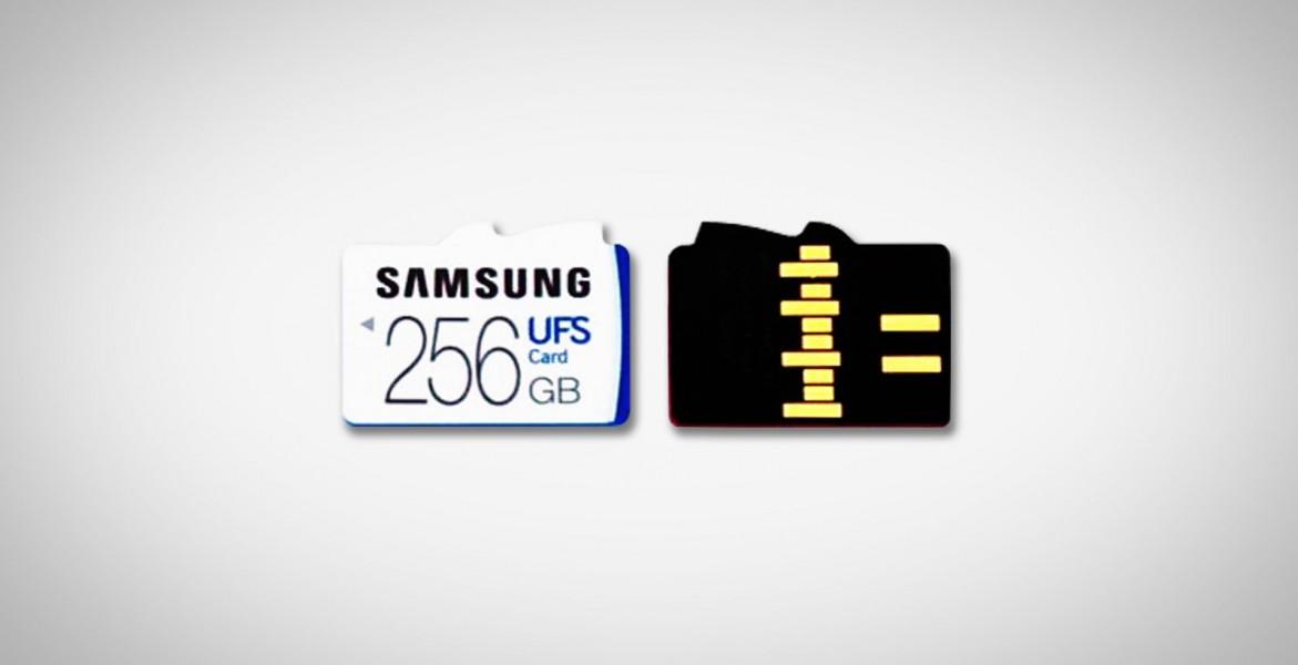 Cartes UFS Samsung
