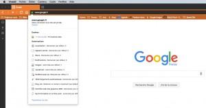 Le HTTPS en place sur Google.fr