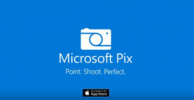 microsoft pix banner