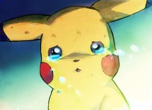 pokemon pleure