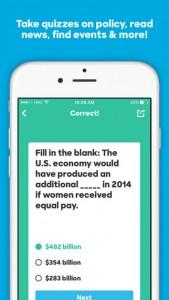 screen hillary 2016 3 169x300 - Hillary Clinton a développé un jeu mobile pour sa campagne