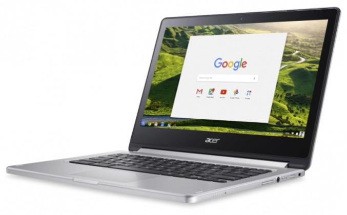 chromebook r13 02 677x420 - Le Chromebook R 13 d'Acer est aussi une tablette