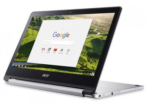 chromebook r13 04 588x420 - Le Chromebook R 13 d'Acer est aussi une tablette