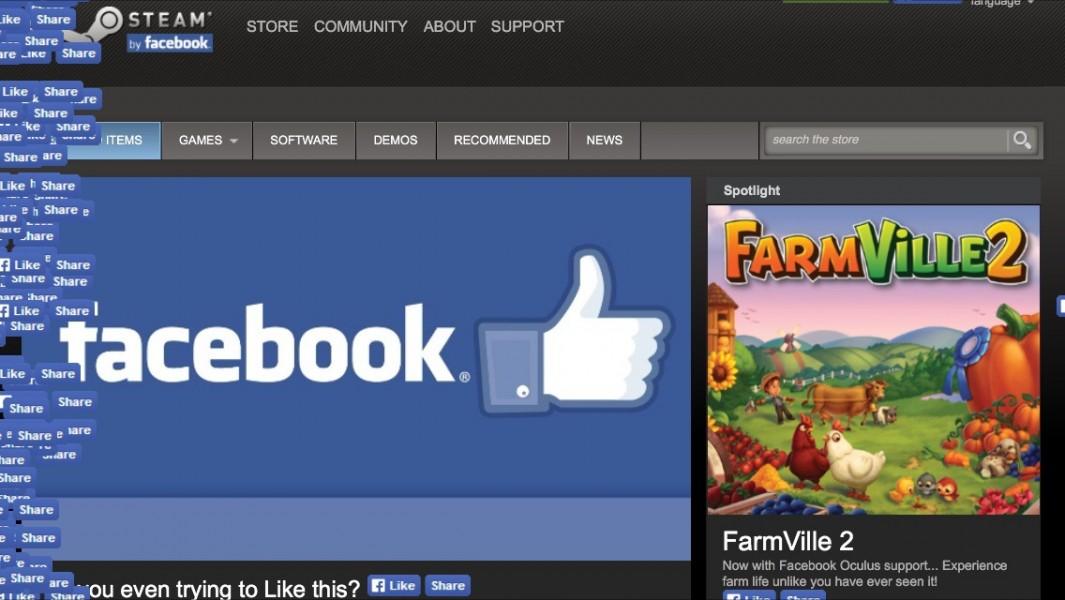 facebook steam