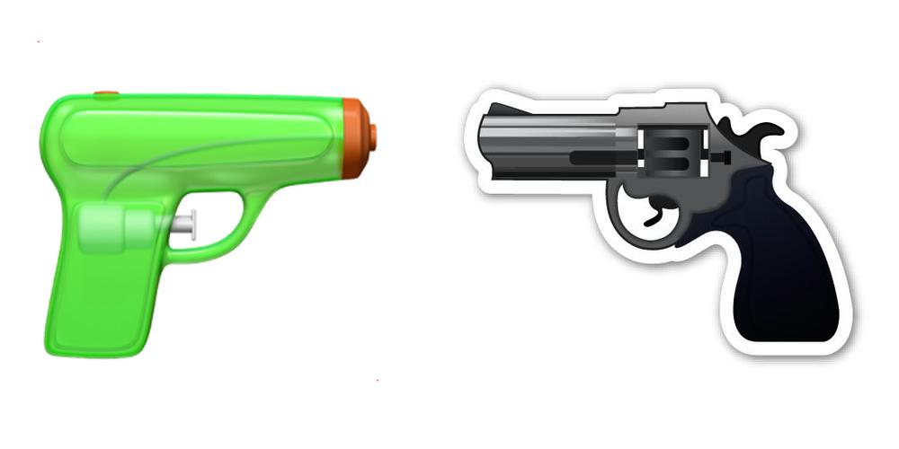 ios 10 pistolet à eau