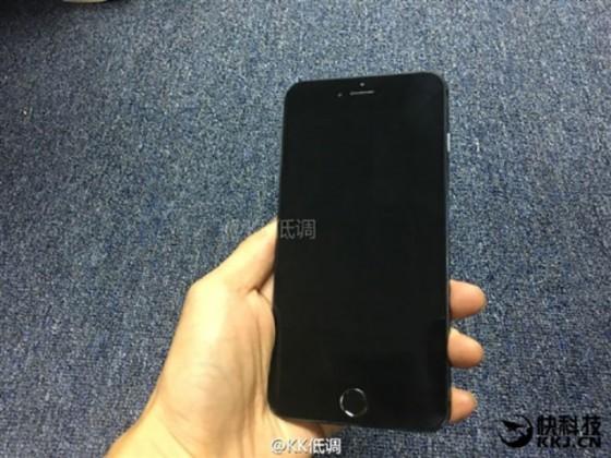 iphone 7 noir 01 1 560x420 - L'iPhone 7 Plus se montre en noir