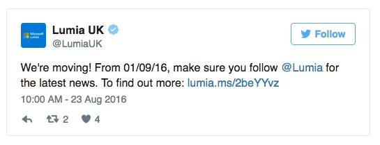 lumia 02 - Microsoft ferme des comptes Twitter Lumia