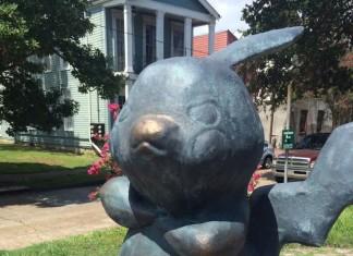 pikachu statue