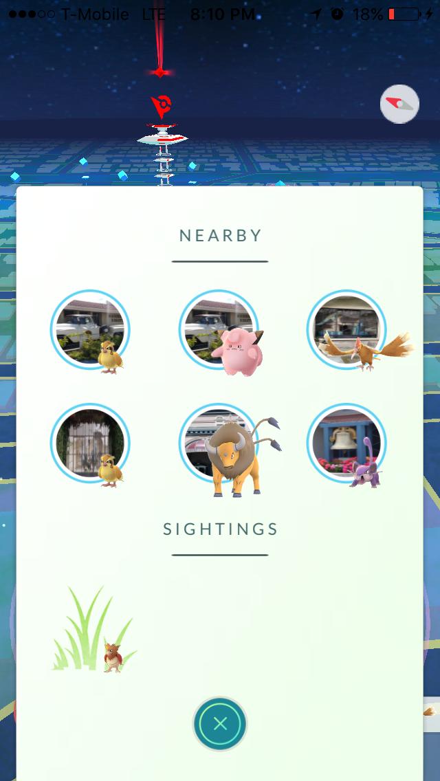 pokemon go photo - Pokemon Go se dote d'un radar dans sa nouvelle mise à jour !